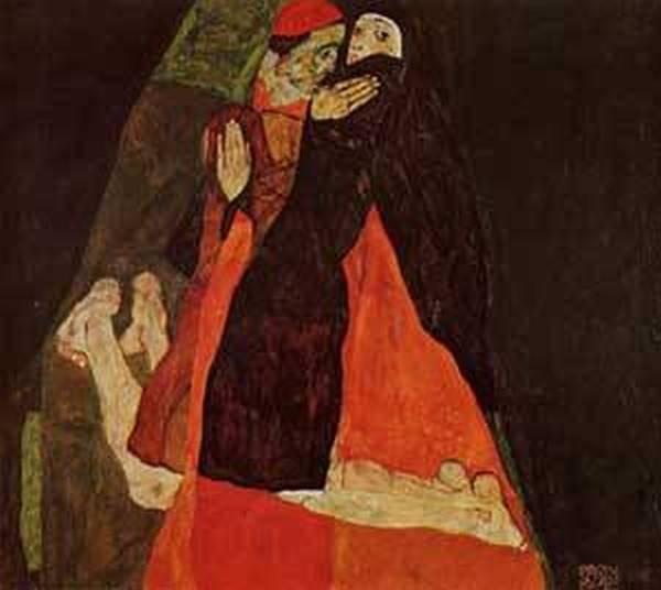 Cardinal and Nun aka Caress 1912